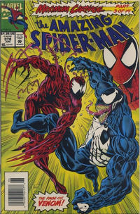 Cover for The Amazing Spider-Man (Marvel, 1963 series) #378 [Direct Edition]