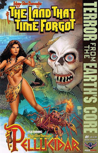 Cover Thumbnail for Edgar Rice Burroughs' The Land That Time Forgot/Pellucidar: Terror from the Earth's Core (American Mythology Productions, 2017 series) #1 [Main Cover B]