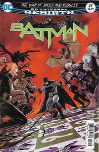 Cover Thumbnail for Batman (DC, 2016 series) #29