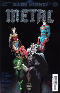 Cover Thumbnail for Dark Nights: Metal (DC, 2017 series) #1 [Greg Capullo / Jonathan Glapion Cover]