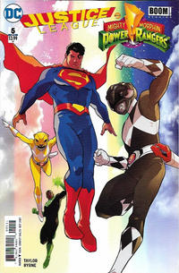 Cover Thumbnail for Justice League / Power Rangers (DC, 2017 series) #5