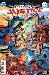 Cover Thumbnail for Justice League (DC, 2016 series) #27