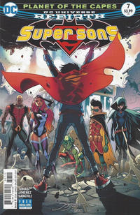 Cover Thumbnail for Super Sons (DC, 2017 series) #7