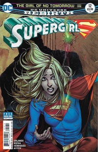 Cover Thumbnail for Supergirl (DC, 2016 series) #12