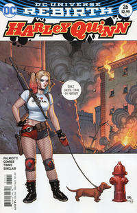 Cover Thumbnail for Harley Quinn (DC, 2016 series) #26 [Frank Cho Cover]
