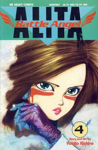 Cover Thumbnail for Battle Angel Alita (Viz, 1992 series) #4