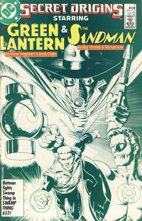Cover Thumbnail for Secret Origins (DC, 1986 series) #7 [Direct]