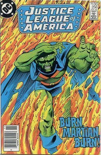 Cover for Justice League of America (DC, 1960 series) #256 [Direct Edition]