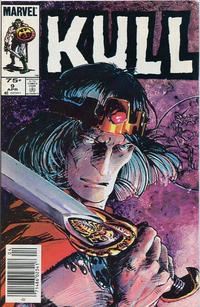 Cover for Kull the Conqueror (Marvel, 1983 series) #9 [Direct Edition]
