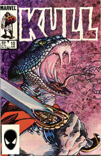 Cover Thumbnail for Kull the Conqueror (Marvel, 1983 series) #10 [Direct]