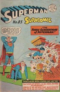 Cover Thumbnail for Superman Supacomic (K. G. Murray, 1959 series) #85