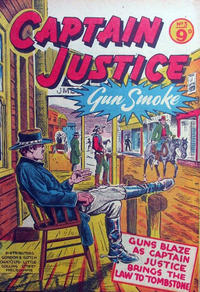 Cover Thumbnail for Captain Justice (Calvert, 1954 series) #3