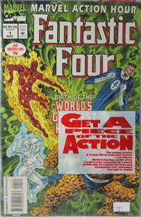 Cover Thumbnail for Marvel Action Hour, Featuring the Fantastic Four (Marvel, 1994 series) #1 [Regular Direct Edition]