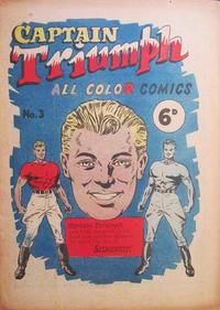 Cover Thumbnail for Captain Triumph Comics (K. G. Murray, 1947 series) #3