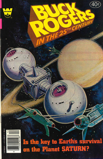 Cover for Buck Rogers in the 25th Century (Western, 1979 series) #5 [Whitman]
