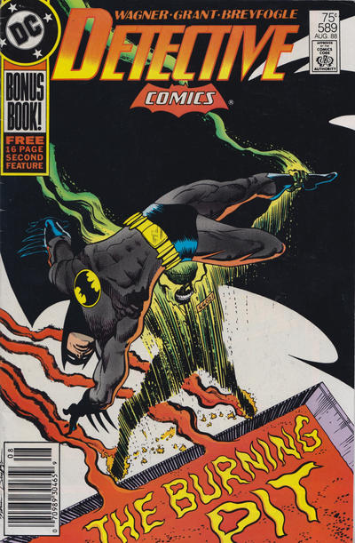 Cover for Detective Comics (DC, 1937 series) #589 [Newsstand]