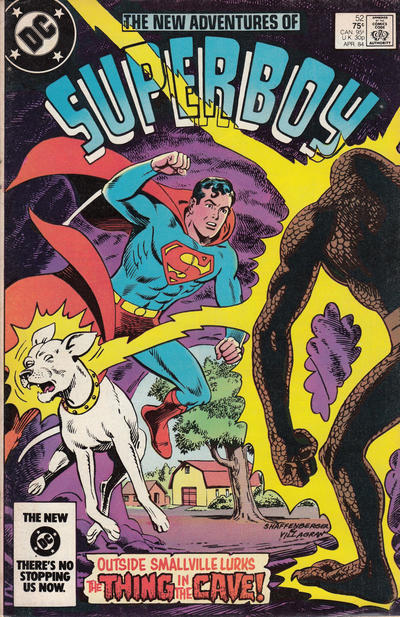 Cover for The New Adventures of Superboy (DC, 1980 series) #52 [Direct]
