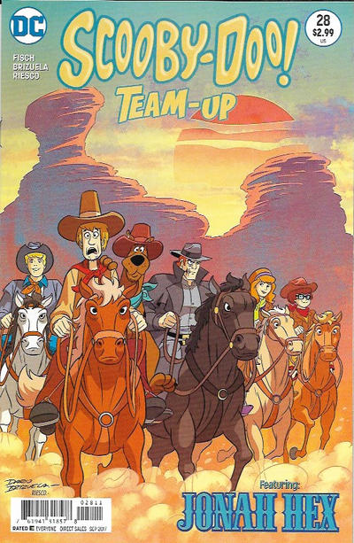 Cover for Scooby-Doo Team-Up (DC, 2014 series) #28 [Direct Sales]