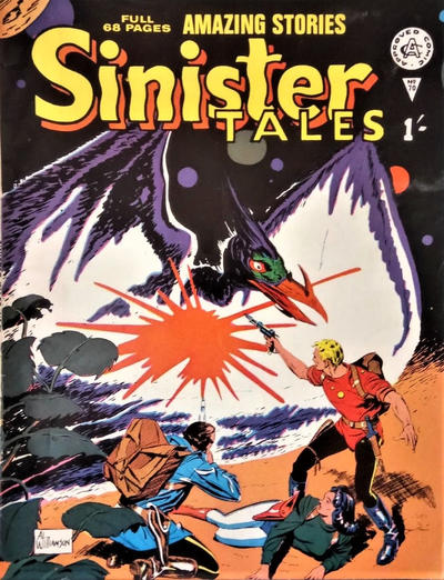 Cover for Sinister Tales (Alan Class, 1964 series) #70