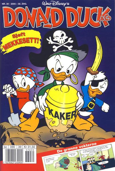 Cover for Donald Duck & Co (Hjemmet / Egmont, 1948 series) #39/2005