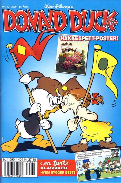 Cover for Donald Duck & Co (Hjemmet / Egmont, 1948 series) #40/2005