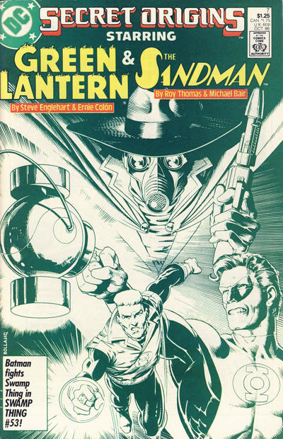 Cover for Secret Origins (DC, 1986 series) #7 [Newsstand]