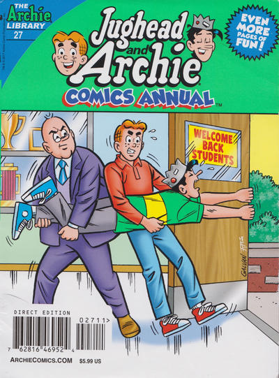 Cover for Jughead and Archie Double Digest (Archie, 2014 series) #27
