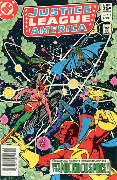 Cover for Justice League of America (DC, 1960 series) #213 [Direct Sales Variant]