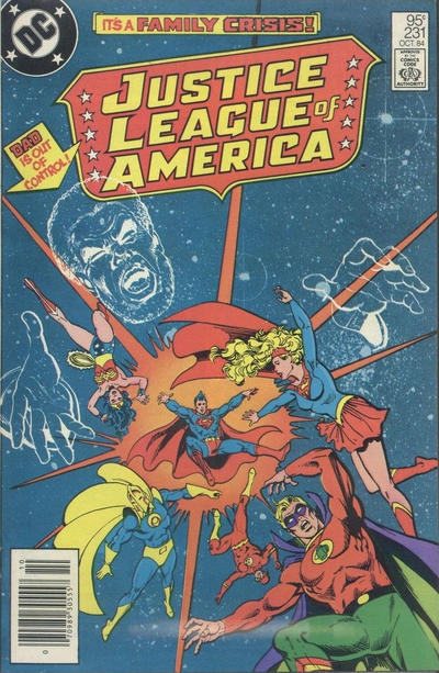 Cover for Justice League of America (DC, 1960 series) #231 [direct-sales]