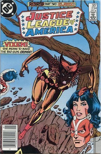 Cover for Justice League of America (DC, 1960 series) #234 [Newsstand Variant]