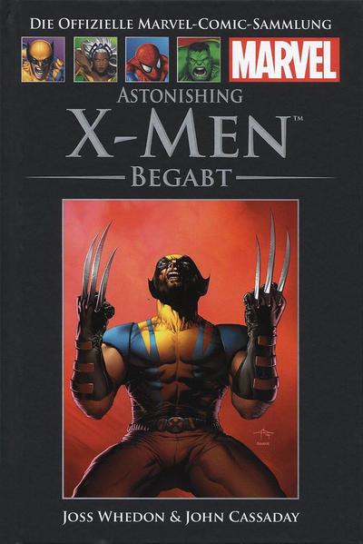Cover for Die offizielle Marvel-Comic-Sammlung (Hachette [DE], 2013 series) #38 - X-Men: Begabt