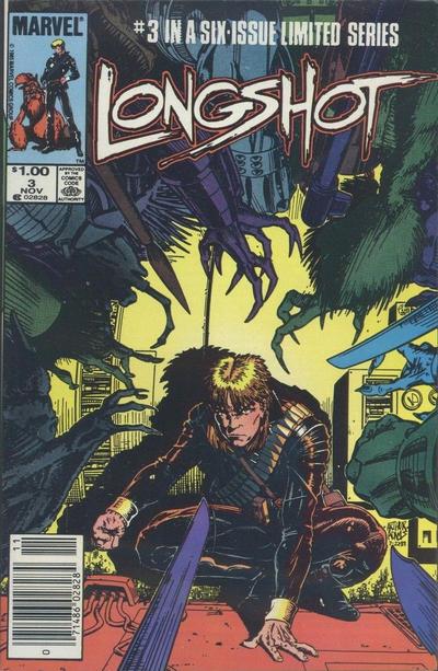 Cover for Longshot (Marvel, 1985 series) #3 [Direct]