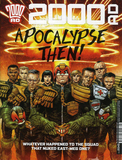 Cover for 2000 AD (Rebellion, 2001 series) #2045