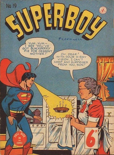 Cover for Superboy (K. G. Murray, 1949 series) #19