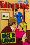Cover for Falling in Love Romances (K. G. Murray, 1958 series) #92