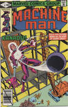 Cover for Machine Man (Marvel, 1978 series) #13 [Direct Edition]