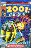 Cover for 2001, A Space Odyssey (Marvel, 1976 series) #9 [British Price Variant]