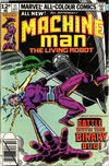 Cover for Machine Man (Marvel, 1978 series) #11 [British Price Variant]
