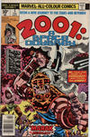 Cover for 2001, A Space Odyssey (Marvel, 1976 series) #3 [British Price Variant]