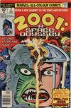 Cover for 2001, A Space Odyssey (Marvel, 1976 series) #2 [British Price Variant]