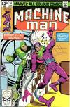 Cover for Machine Man (Marvel, 1978 series) #14 [British]