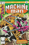 Cover for Machine Man (Marvel, 1978 series) #18 [British Price Variant]