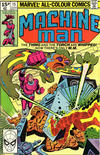 Cover for Machine Man (Marvel, 1978 series) #15 [British Price Variant]