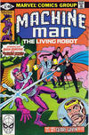 Cover for Machine Man (Marvel, 1978 series) #16 [Direct]