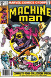 Cover for Machine Man (Marvel, 1978 series) #19 [Newsstand]