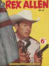 Cover for Rex Allen (World Distributors, 1953 series) #12