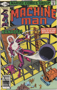 Cover Thumbnail for Machine Man (Marvel, 1978 series) #13 [Direct]