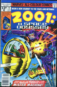 Cover Thumbnail for 2001, A Space Odyssey (Marvel, 1976 series) #9 [British Price Variant]