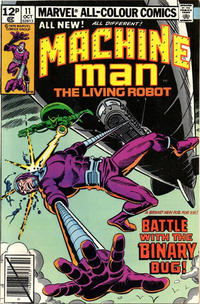 Cover Thumbnail for Machine Man (Marvel, 1978 series) #11 [British]