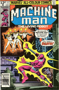 Cover Thumbnail for Machine Man (Marvel, 1978 series) #12 [British]